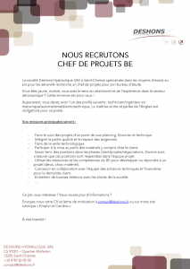 ANNONCE_CHEF_PROJET_BE